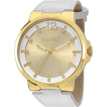 Relógio Euro Feminino Dourado Branco EU2035YEG/2D