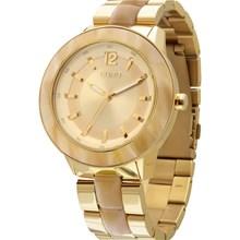 Relógio Euro Feminino Dourado Marrom EU2035LRM/4X