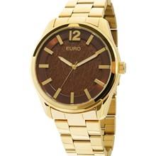 Relógio Euro Feminino Dourado Marrom EU2036LYB/4M