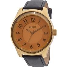 Relógio Euro Feminino Dourado Marrom EU2036LYQ/2D