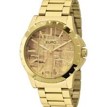 Relógio Euro Feminino Dourado Marrom EU2039IS/4M