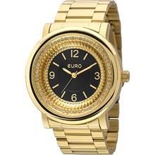Relógio Euro Feminino Dourado Preto EU2035YDW/4P