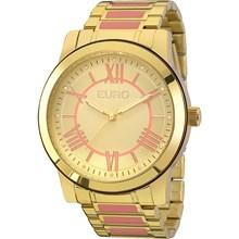 Relógio Euro Feminino Dourado Rosa EU2035YEI/5T