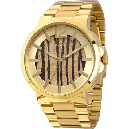 cb6bb7fcc14 Relógio Euro Feminino Dourado Safari EU2036LYK 4X - My Time