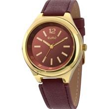 Relógio Euro Feminino Dourado Vermelho EU2035XYV/2R