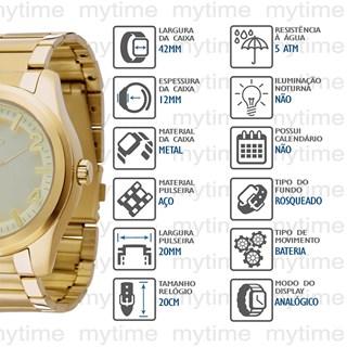 Relógio Euro Feminino EU2035XG/4D