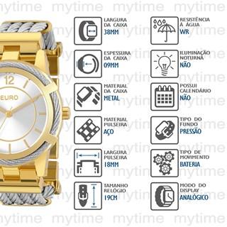 Relógio Euro Feminino EU2035YEC/5K
