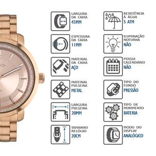 Relógio Euro Feminino EU2036YPA/4J