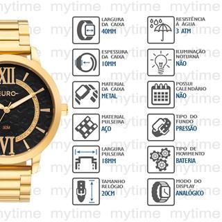 Relógio Euro Feminino EU2036YQYA/4D
