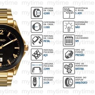 Relógio Euro Feminino EU2315HM/4P