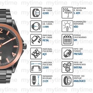 Relógio Euro Feminino EU2315HO/4C