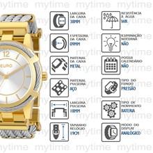 Relógio Euro Feminino Misto EU2035YEC/5K