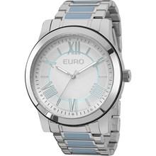 Relógio Euro Feminino Prata Azul EU2035YEH/5K
