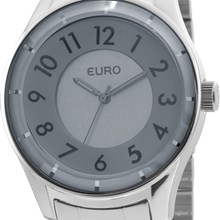 Relógio Euro Feminino Prata Cinza EU2036LYP/3C