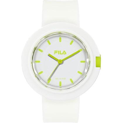 Relógio Fila Feminino Branco Verde 38-109-002