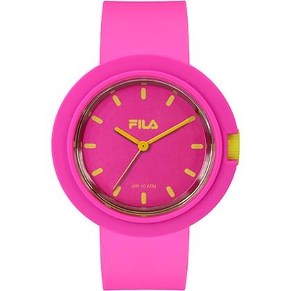 Relógio Fila Feminino Rosa Amarelo 38-109-003