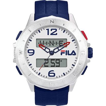 Relógio Fila Masculino Azul Branco 38-150-003
