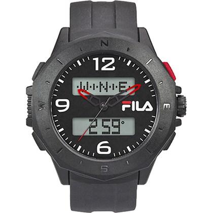 Relógio Fila Masculino Cinza Preto 38-150-002