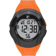 Relógio Fila Masculino Laranja Preto 38-152-004
