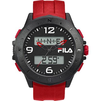 Relógio Fila Masculino Vermelho Preto 38-150-004