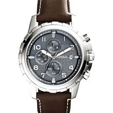 Relógio Fossil Dean Masculino Cronógrafo Cinza FS5022