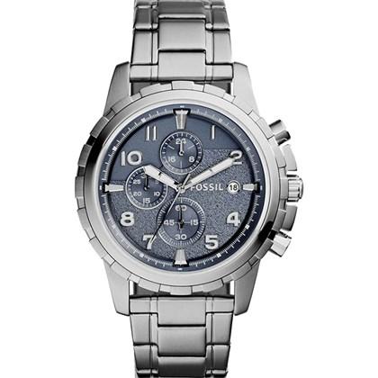 aa1f0b9a89f Relógio Fossil Dean Masculino Cronógrafo Cinza FS5023 - My Time