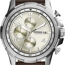 Relógio Fossil Dean Masculino Cronógrafo Prata FS5114