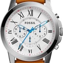 Relógio Fossil Grant Masculino Cronógrafo Couro FS5060