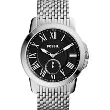 Relógio Fossil Grant Slim Masculino Preto FS4944