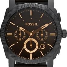 Relógio Fossil Masculino Cronógrafo Couro Marrom FS4656