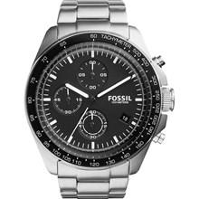 Relógio Fossil Masculino Cronógrafo Prata Preto CH3026