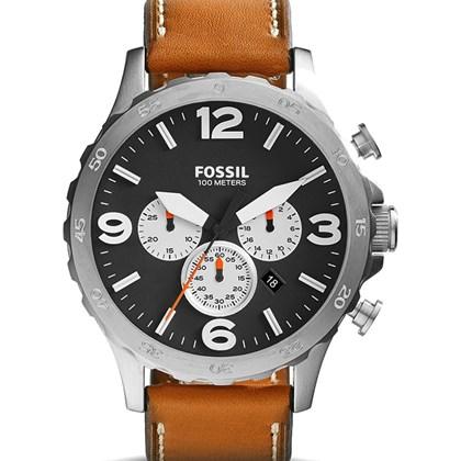 f3f0e198499 RELÓGIO FOSSIL MASCULINO JR1486 COURO - My Time