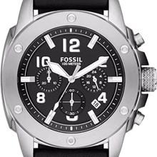 Relógio Fossil Modern Machine Masculino Cronógrafo Preto FS4928