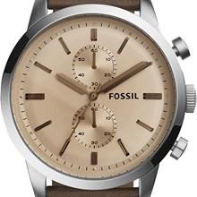Relógio Fossil Townsman Masculino Cronógrafo Marrom FS5156