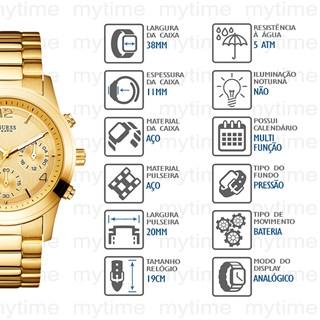Relógio Guess Feminino 92351LPGSDA2