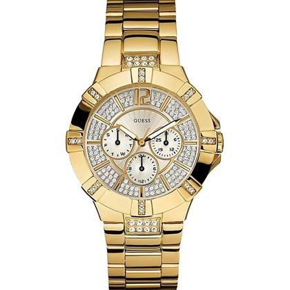 321d12dcfeb Relógio Guess Feminino Dourado 92349LPGSDA2 - My Time