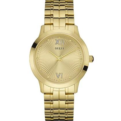 4f058e418bf Relógio Guess Feminino Dourado 92577LPGDDA2 - My Time