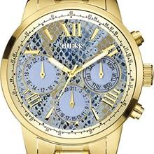 Relógio Guess Feminino Dourado Azul 92521LPGSDA3