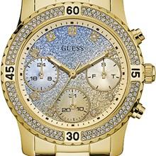Relógio Guess Feminino Dourado Azul 92595LPGSDA2