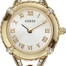 Relógio Guess Feminino Dourado Branco 92525LPGLDA1