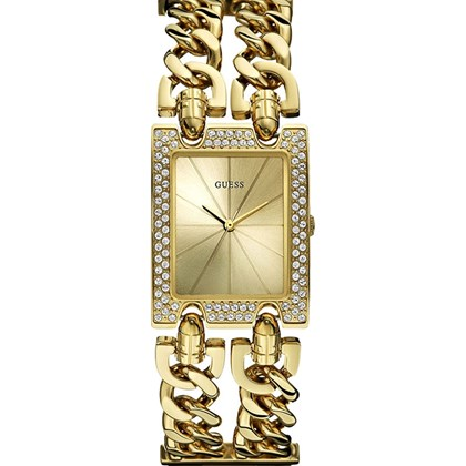e9e85aec517 Relógio Guess Feminino Dourado Quadrado 92056LPGTDB8 - My Time