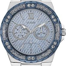 Relógio Guess Feminino Prata Azul 92601L0GSNC1