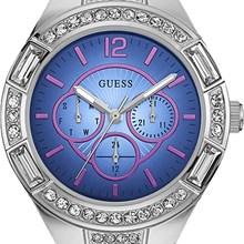 Relógio Guess Feminino Prata Azul 92603L0GSNA1