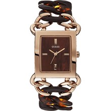 Relógio Guess Feminino Quadrado Rose Marrom 92530LPGTRU2