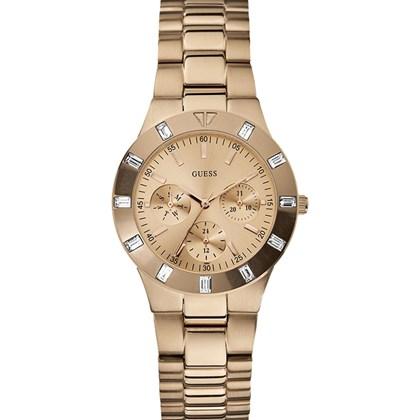 956e0e13ae5 Relógio Guess Feminino Rose 92421LPGSRA4 - My Time