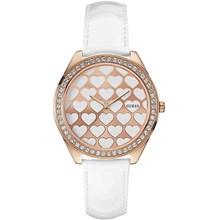 Relógio Guess Feminino Rose Branco 92549LPGTRC1