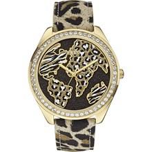 Relógio Guess Feminino Safari Dourado Marrom 92545LPGTDC2