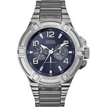 Relógio Guess Masculino Cinza Azul 92479G0GSNA7