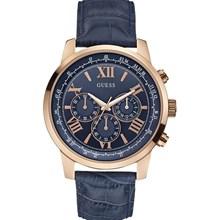 Relógio Guess Masculino Cronógrafo Dourado Azul 92526GPGDRC3