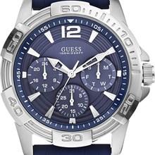 Relógio Guess Masculino Prata Azul 92560G0GSNU2